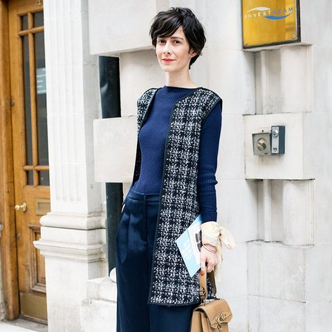 Most stylish French women: Violaine Bernard