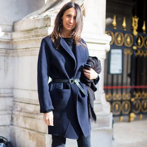Most stylish French women: Geraldine Saglio