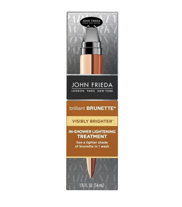 John Frieda Brilliant Brunette Visibly Brighter In-Shower Treatment