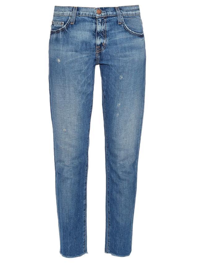 Current/Elliott The Fling Low-Slung Jeans