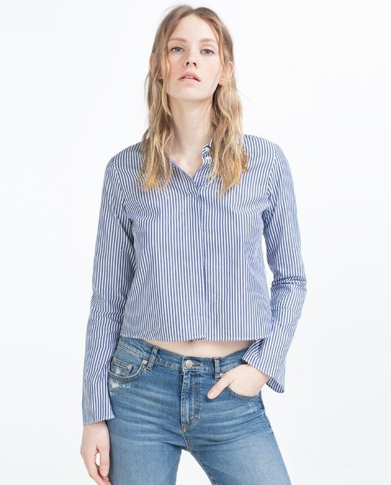 Zara Striped Shirt
