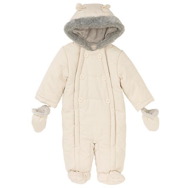 John Lewis Baby Wadded Snowsuit
