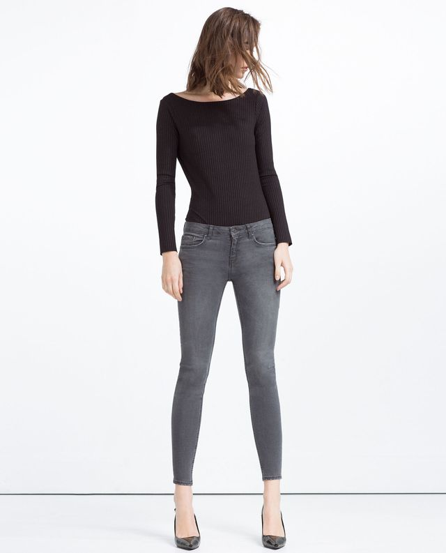 Zara Soft Touch Skinny Trousers
