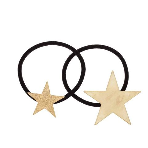 Metal Star Two Pack Pony Bands