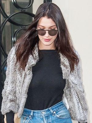 Bella Hadid's Under-$100 Jeans Are Sure to Sell Out