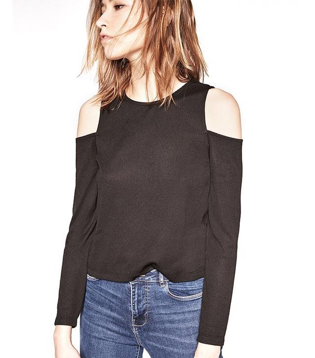 Zara Ribbed T-Shirt