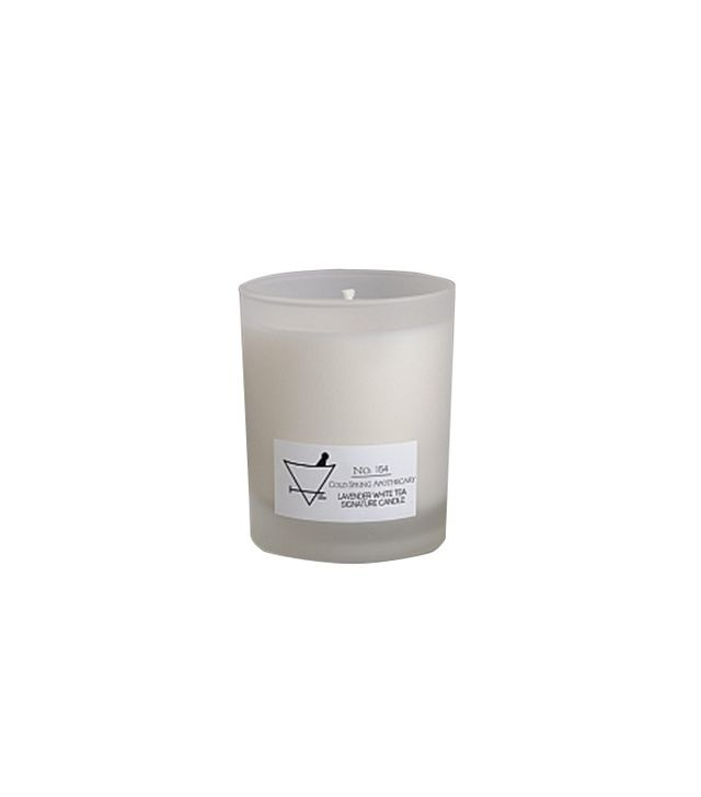 Cold Spring Apothecary Lavender White Tea Signature Candle