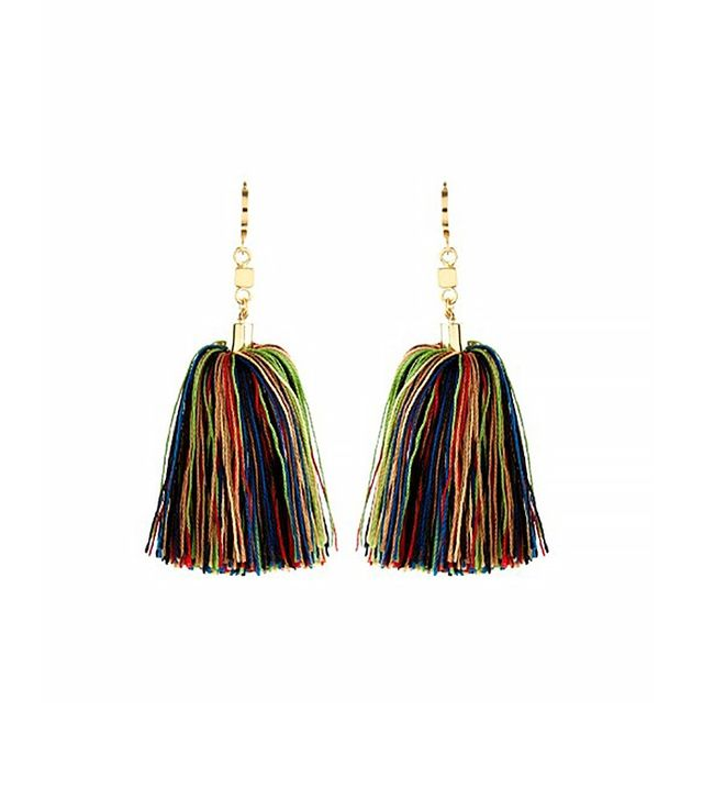 Isabel Marant Guru Short-Tassel Earrings