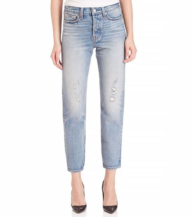 Levi's Wedgie High Rise Selvedge Jeans