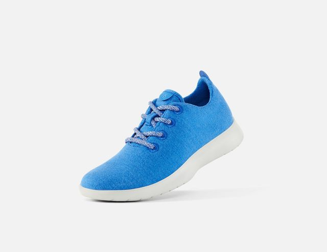 Allbirds Wool Runners in Light NZ Blue