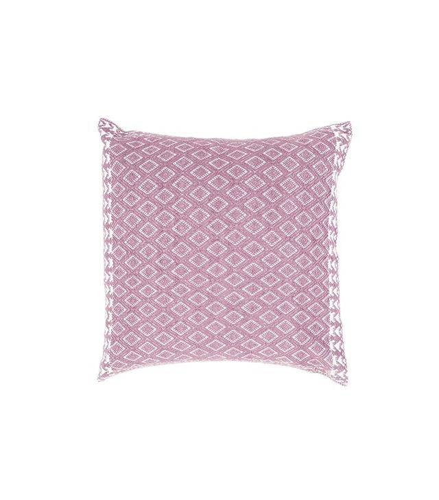 Luchometik for The Little Market Brown Ofelia Woven Pillow