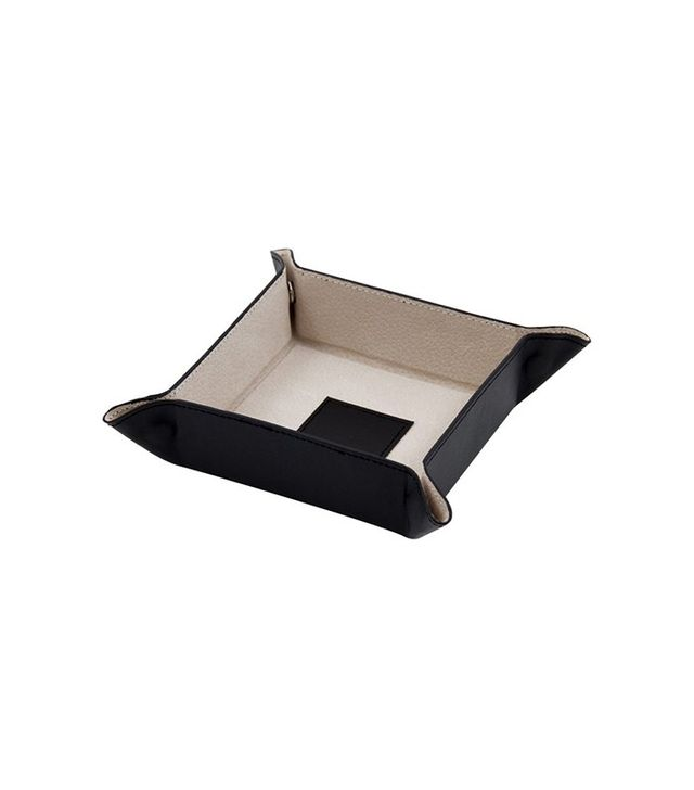 One Kings Lane Leather Valet Tray