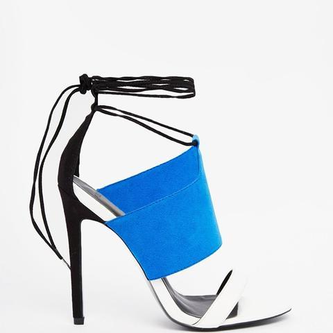 Hendricks Lace Up Heeled Sandals