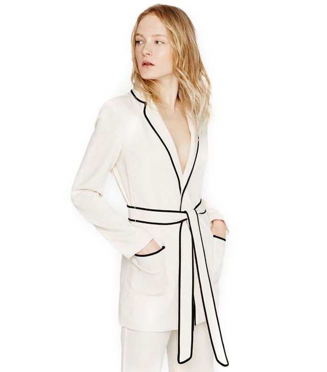 Zara Belted Blazer Robe