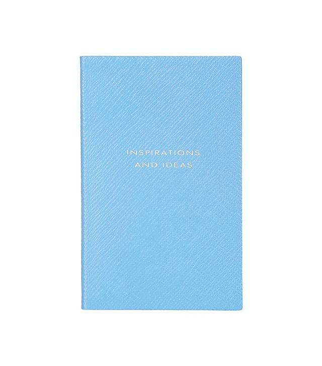 Smythson Inspirations and Ideas Panama Notebook
