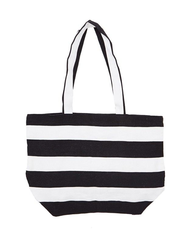 The Little Market Candy Stripe Tote Bag