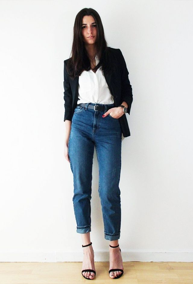 smart casual woman