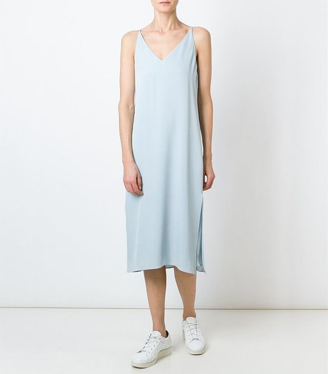 Theory Midi Slip Dress