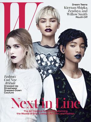 Must-See: Willow Smith, Kiernan Shipka, and Zendaya for W Magazine