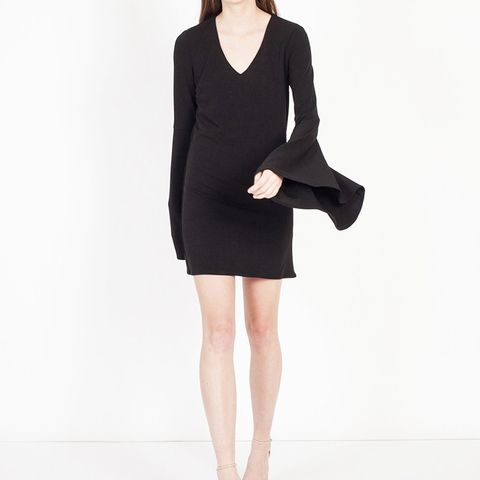 Shira Fluted Sleeve Dress