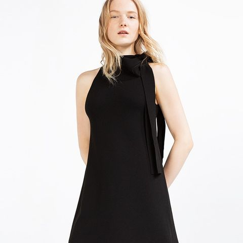 Halter-Neck Dress