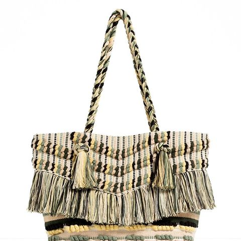 Fringed Tote