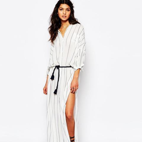 South Beach Stripe Maxi Dress