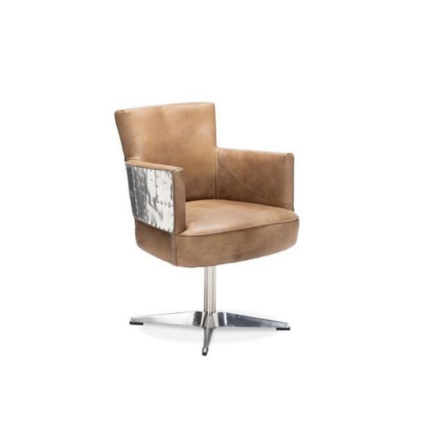 Timothy Oulton Swinderby Swivel Chair