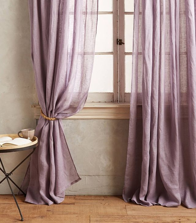 Anthropologie Pinch-Pleat Curtain