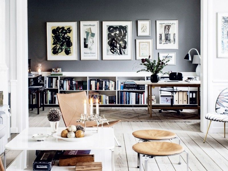 Charming Inside The Gorgeous Grey Home Of A Danish Interior Stylist | MyDomaine AU