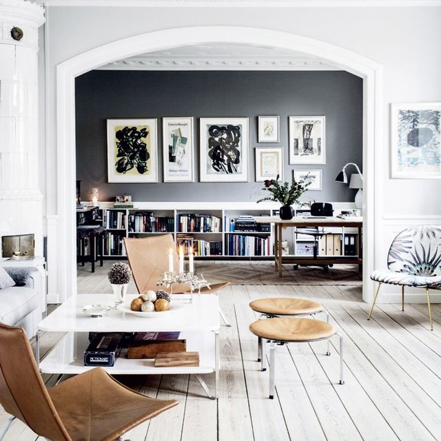 Inside the Gorgeous Grey Home of a Danish Interior Stylist