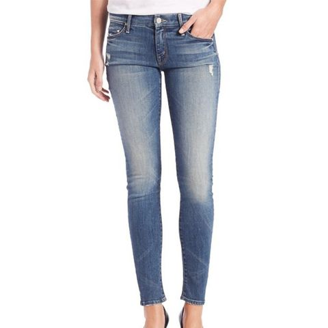 The Looker Distressed Skinny Jeans