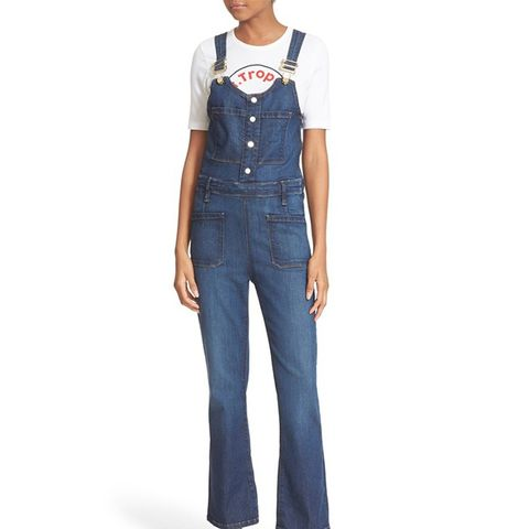 Le High Crop Overalls
