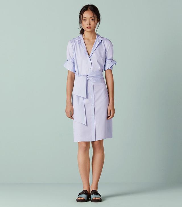 Finery Brunswick Integrated Wrap Shirt Dress