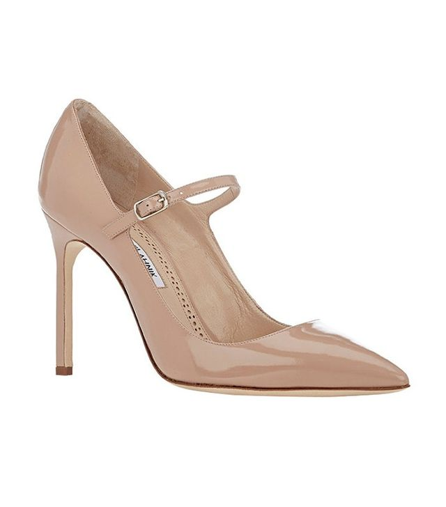 Manolo Blahnik Brifa Mary-Jane Pumps
