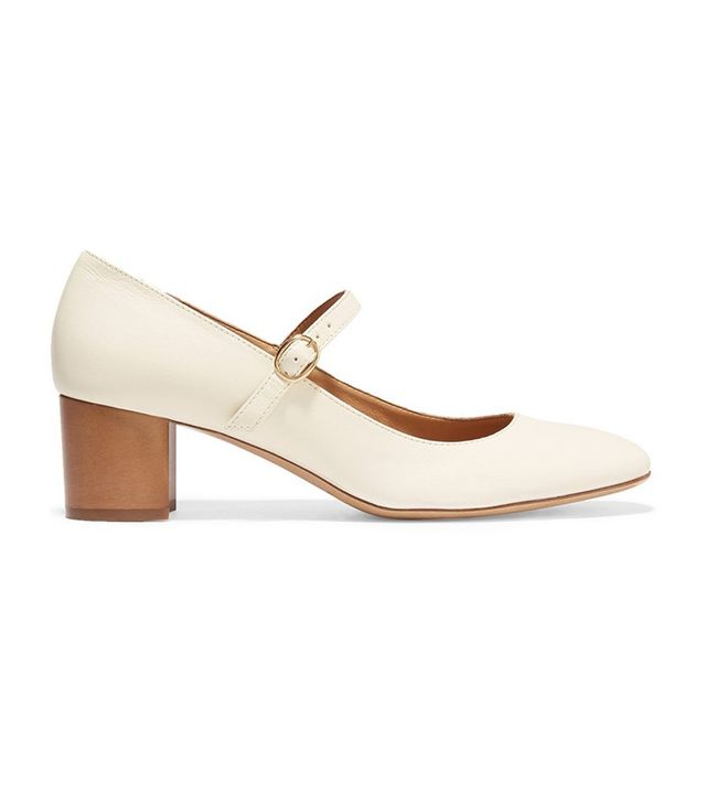 Isabel Marant Étoile Louanne Leather Mary Jane Pumps