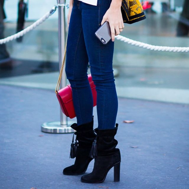 The $0 Trick to Make Your Tight Skinny Jeans Fit Again