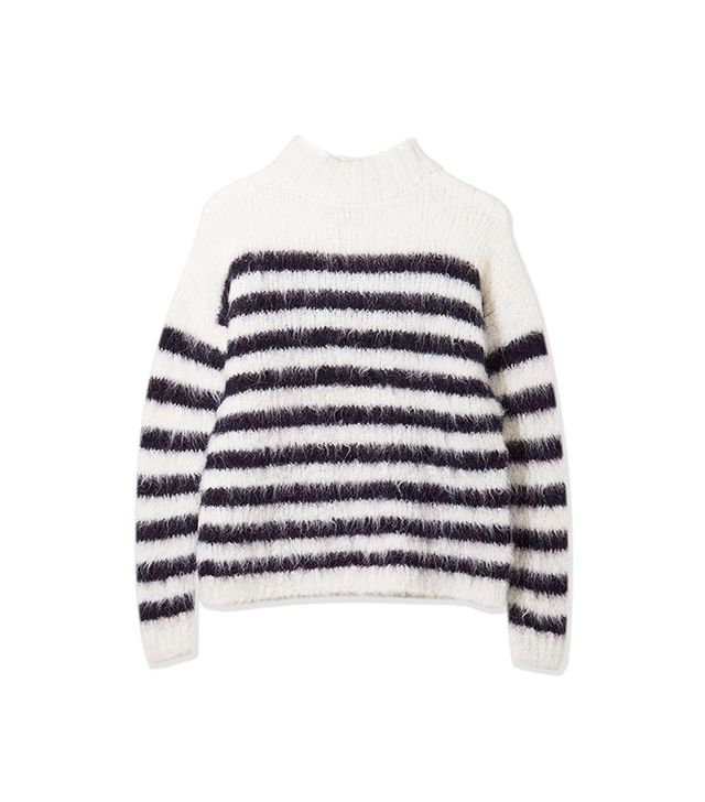 Topshop Boutique Stripe Knitted Jumper