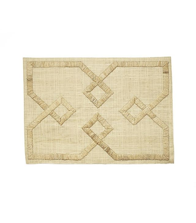 Serena & Lily Set of 4 Ventana Placemats