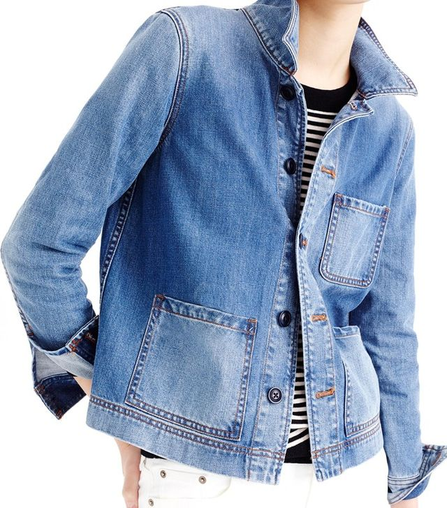J.Crew Denim Workwear Jacket