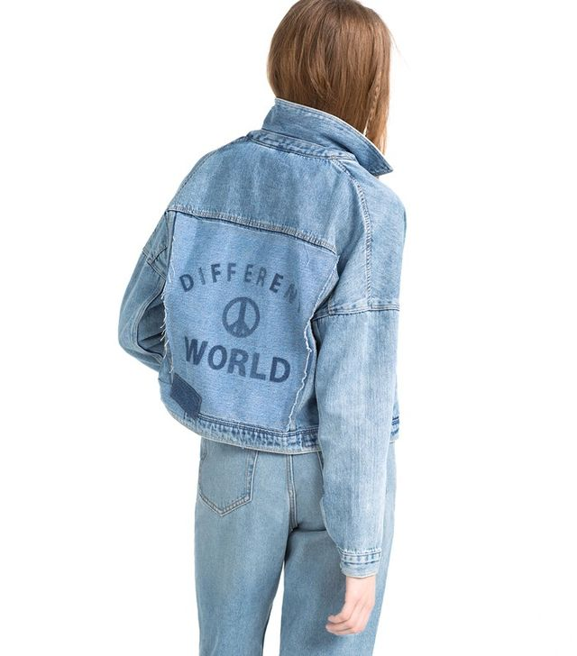 Zara I Am Denim Collection Jacket