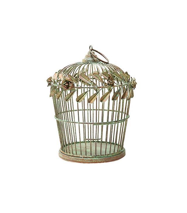 Zara Home Decorative Green Cage