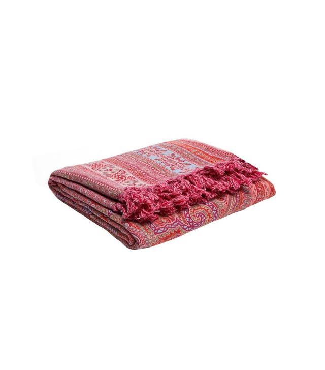 Zara Home Jacquard Wool Throw