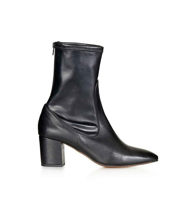 Topshop Monkey Skinny Ankle Boots