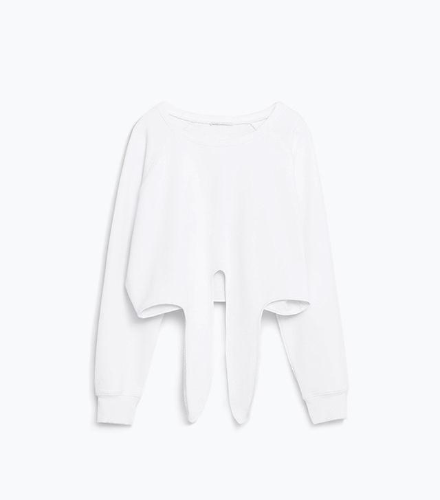 Zara Knotted Yoga Sweatshirt