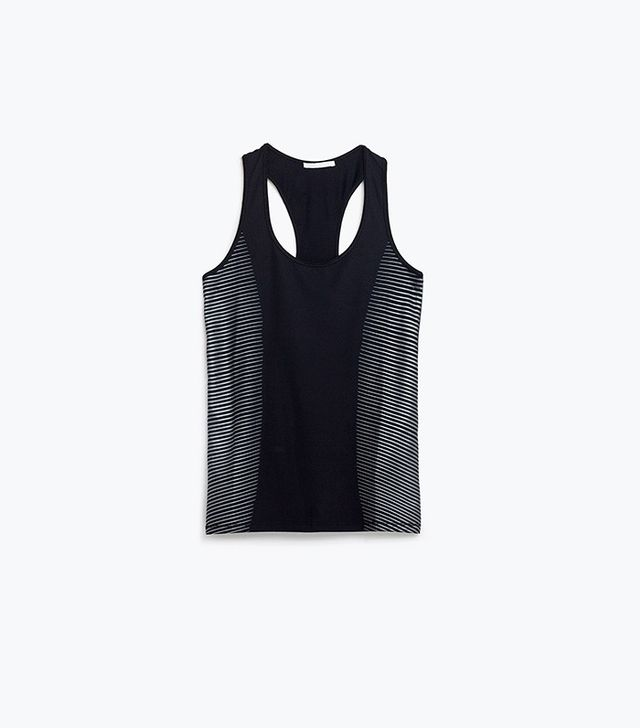 Zara Racer Back T-Shirt