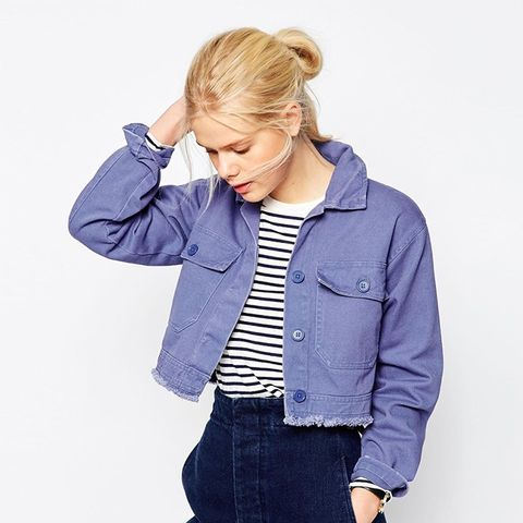 Jacket in Cropped Length