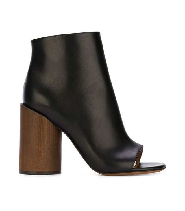 Givenchy Open Toe Booties