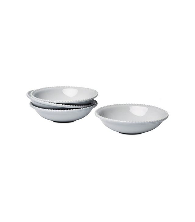 One Kings Lane Beaded-Rim Cereal Bowls