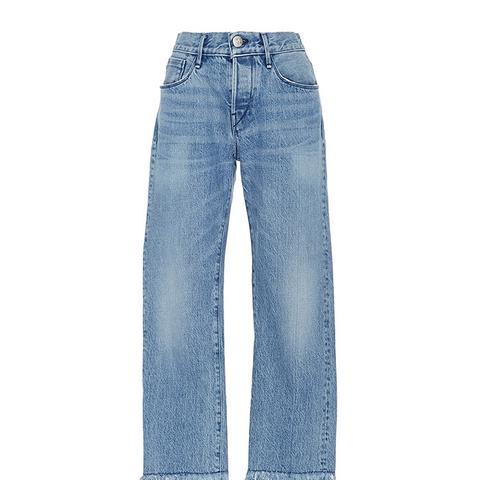 WM3 Fringed Jeans